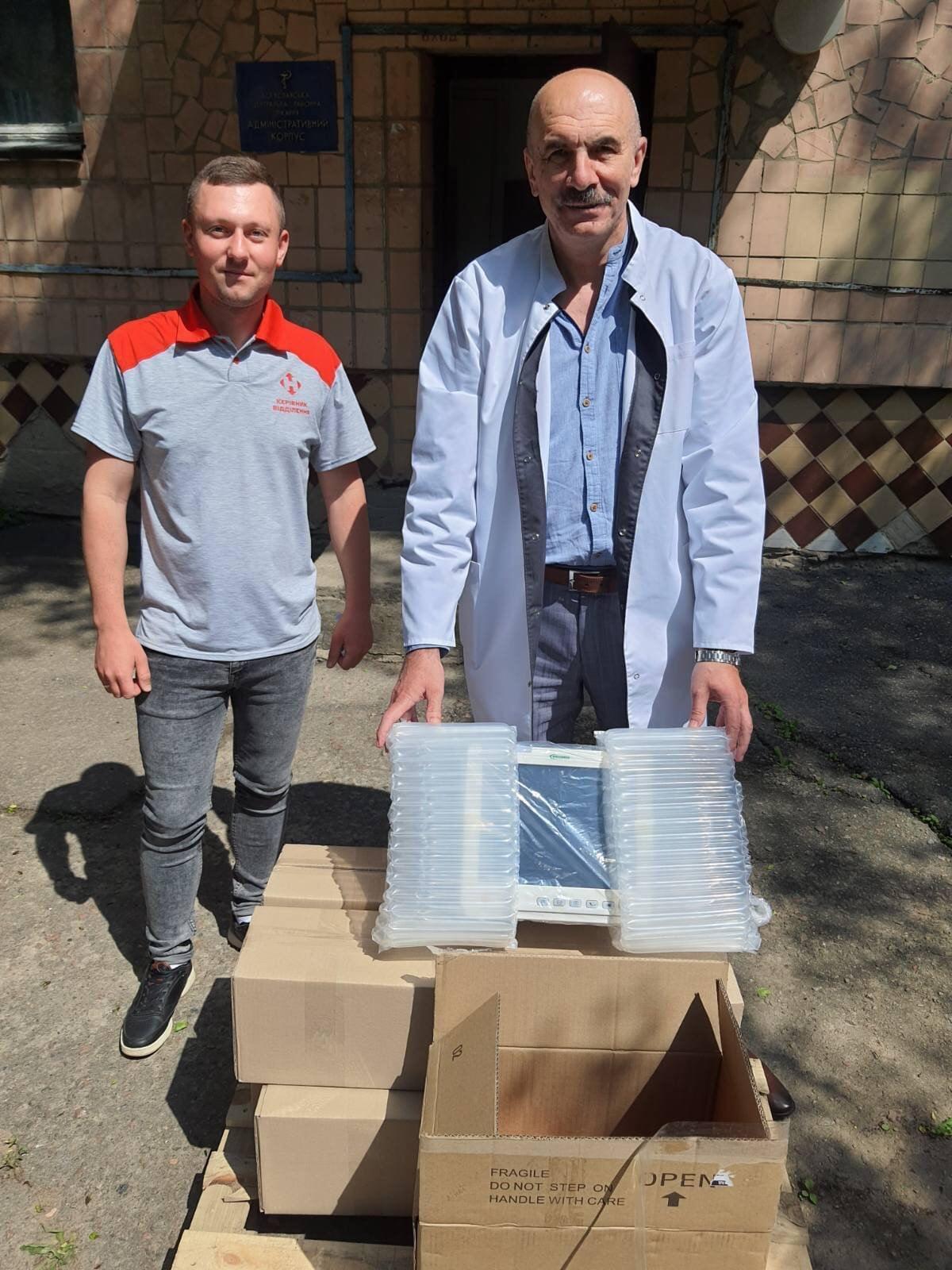 Богуславська лікарня отримала обладнання від Нової Пошти